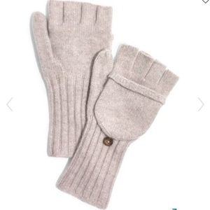 Madewell Convertible Ribbed Wool Gloves/Mittens